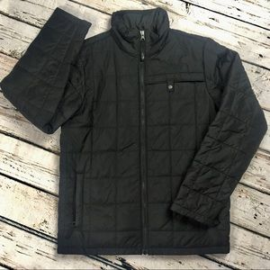 The North Face Puffer Jacket Black Large 14 15